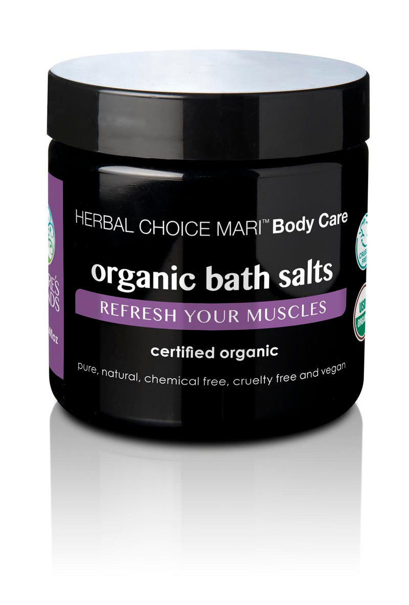 Herbal Choice Mari Organic Bath Salts, Refresh Your Muscles - Herbal Choice Mari Organic Bath Salts, Refresh Your Muscles - Herbal Choice Mari Organic Bath Salts, Refresh Your Muscles