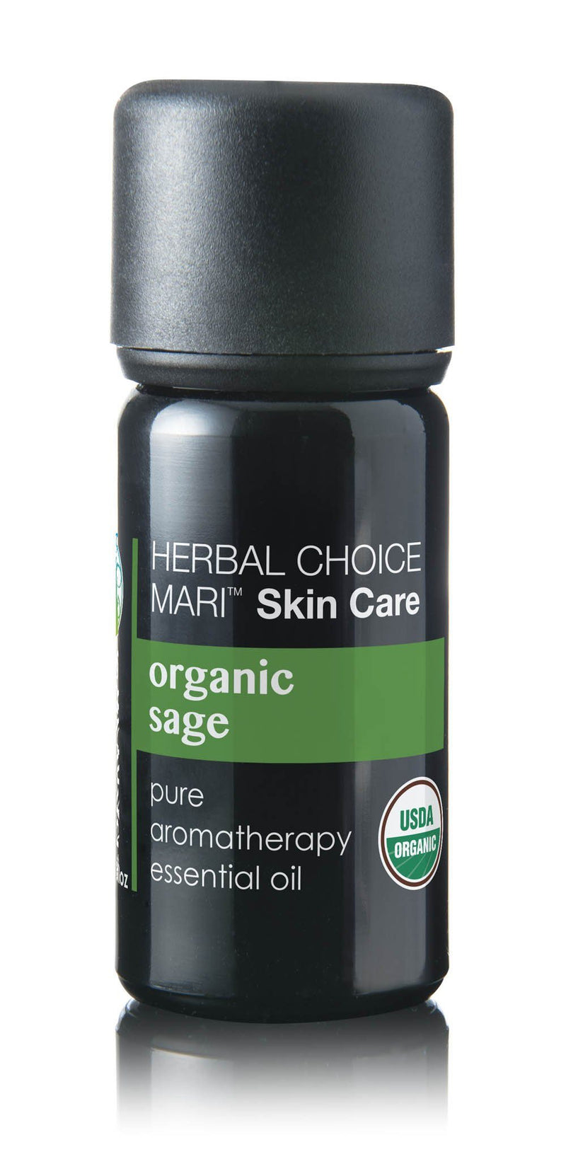 Herbal Choice Mari Organic Sage Essential Oil; 0.3floz Glass - Herbal Choice Mari Organic Sage Essential Oil; 0.3floz Glass - Herbal Choice Mari Organic Sage Essential Oil; 0.3floz Glass