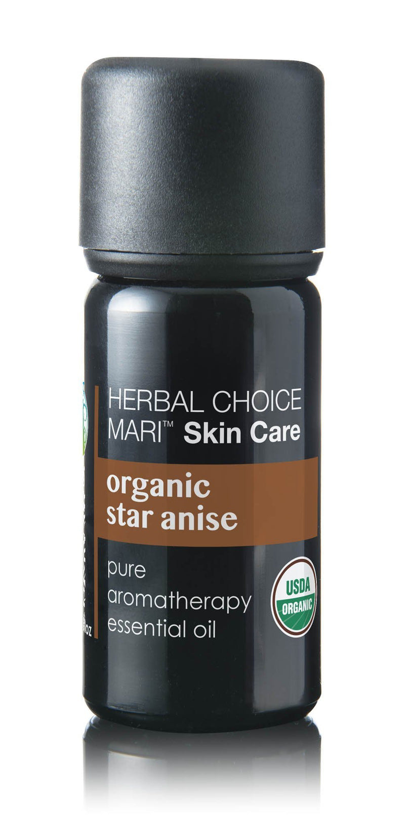 Herbal Choice Mari Organic Star Anise Essential Oil; 0.3floz Glass - Herbal Choice Mari Organic Star Anise Essential Oil; 0.3floz Glass - Herbal Choice Mari Organic Star Anise Essential Oil; 0.3floz Glass