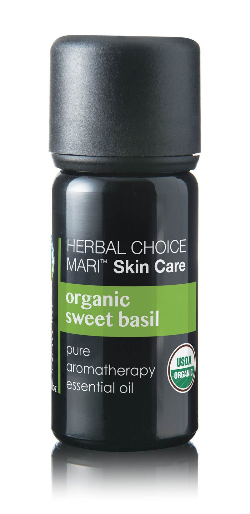 Herbal Choice Mari Organic Sweet Basil Essential Oil; 0.3floz Glass - Herbal Choice Mari Organic Sweet Basil Essential Oil; 0.3floz Glass - Herbal Choice Mari Organic Sweet Basil Essential Oil; 0.3floz Glass