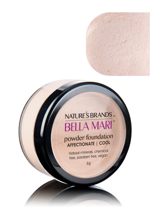 Bella Mari Natural Mineral Powder Foundation