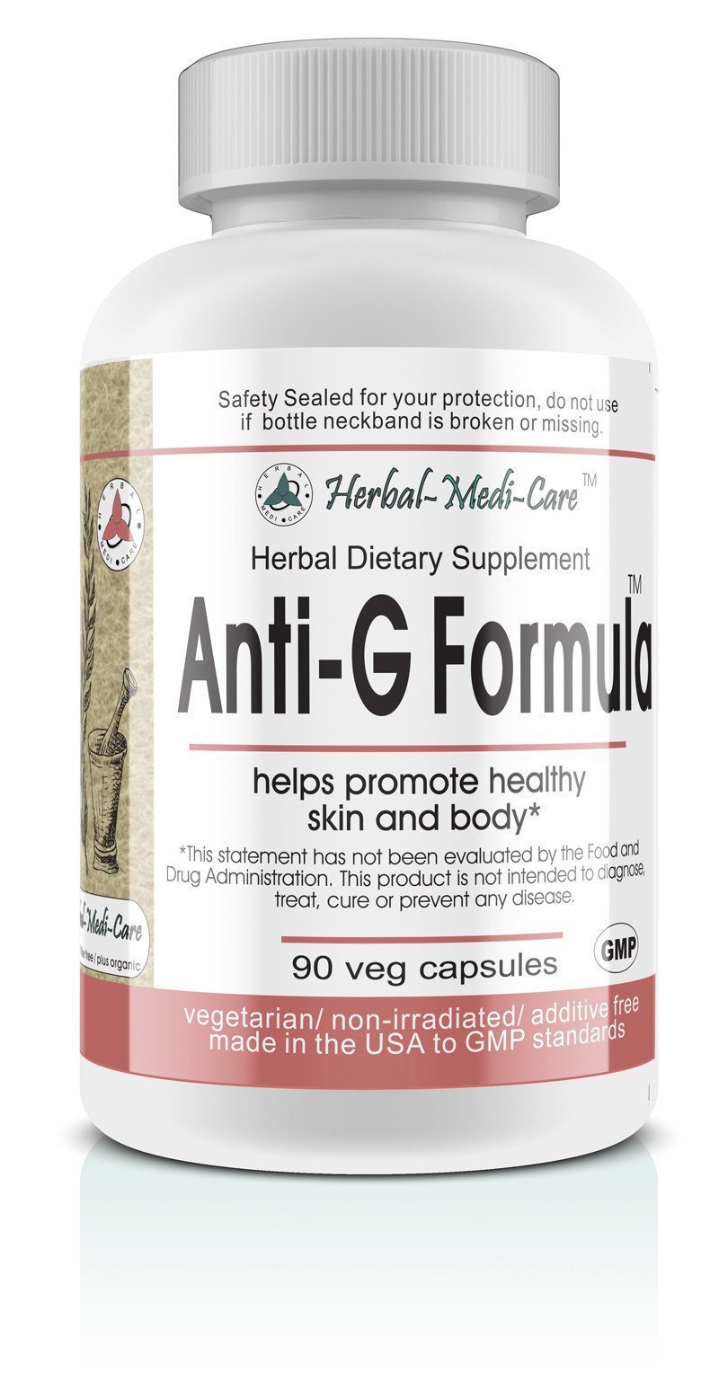 Herbal-Medi-Care Whole Food Anti-G (Anti-Fungal) Vegetarian Capsules; 90-Count - Herbal-Medi-Care Whole Food Anti-G (Anti-Fungal) Vegetarian Capsules; 90-Count - Herbal-Medi-Care Whole Food Anti-G (Anti-Fungal) Vegetarian Capsules; 90-Count