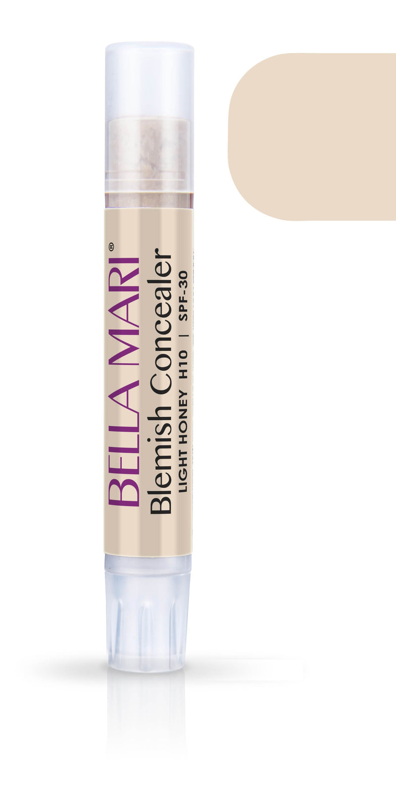 Bella Mari Natural Blemish Concealer Stick; 0.1floz - Bella Mari Natural Blemish Concealer Stick; 0.1floz - Light Honey