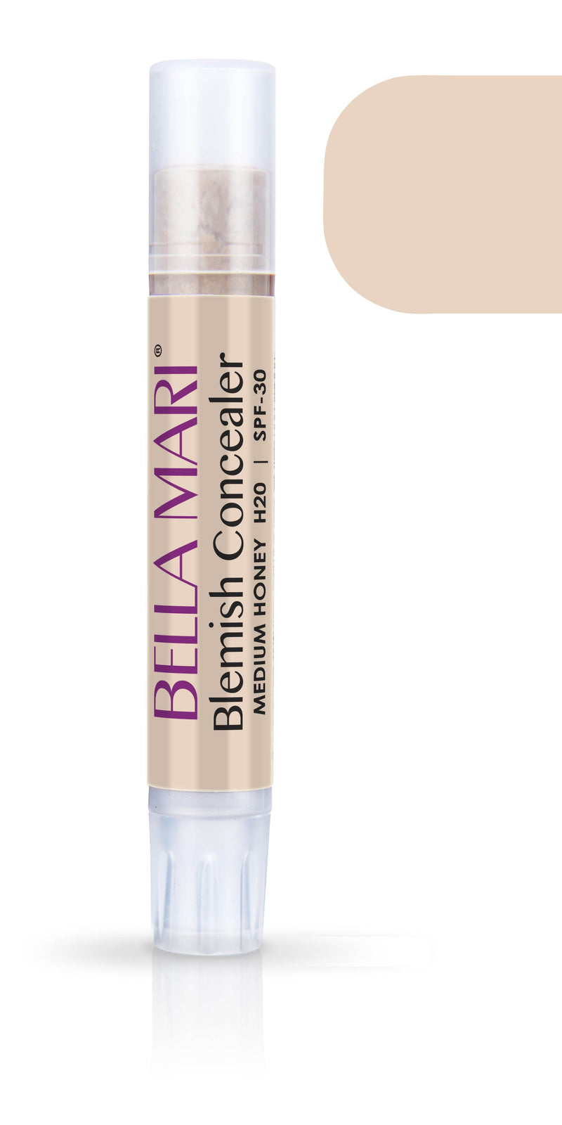 Bella Mari Natural Blemish Concealer Stick; 0.1floz - Bella Mari Natural Blemish Concealer Stick; 0.1floz - Medium Honey