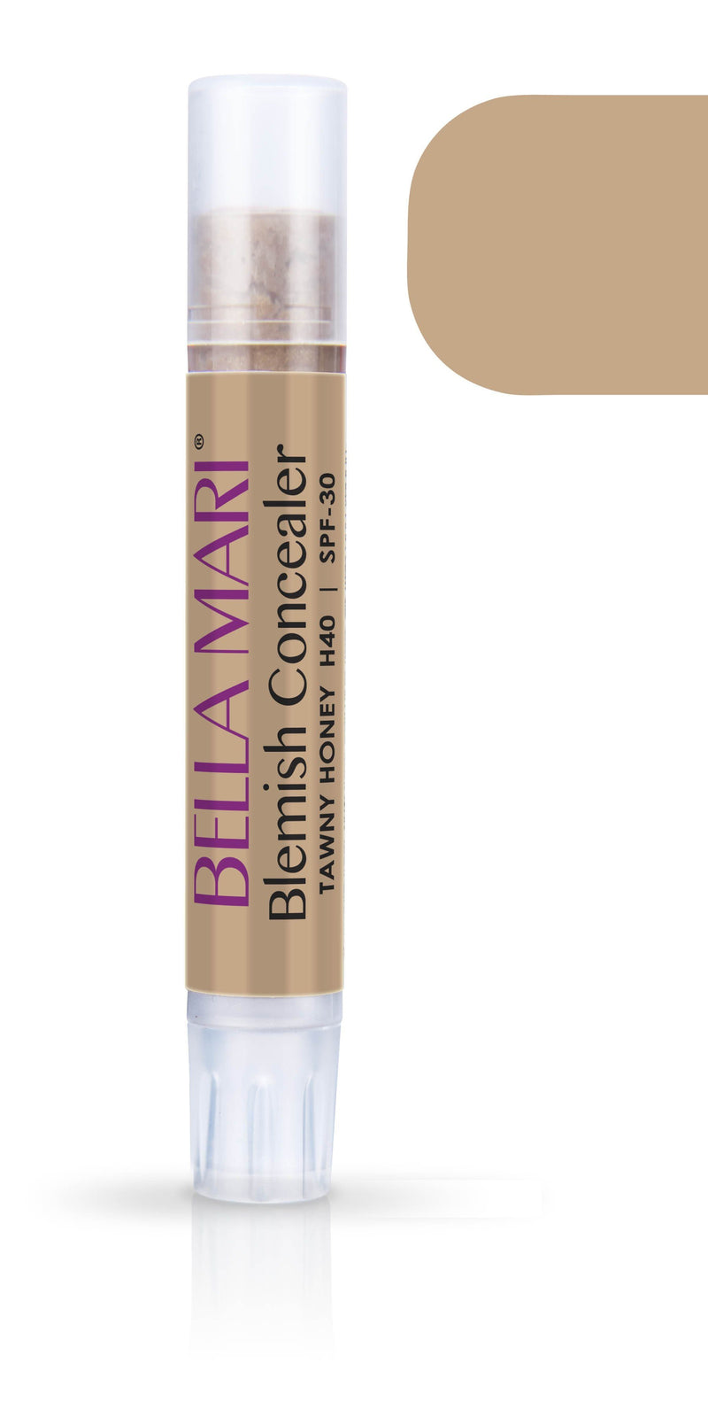 Bella Mari Natural Blemish Concealer Stick; 0.1floz - Bella Mari Natural Blemish Concealer Stick; 0.1floz - Tawny Honey