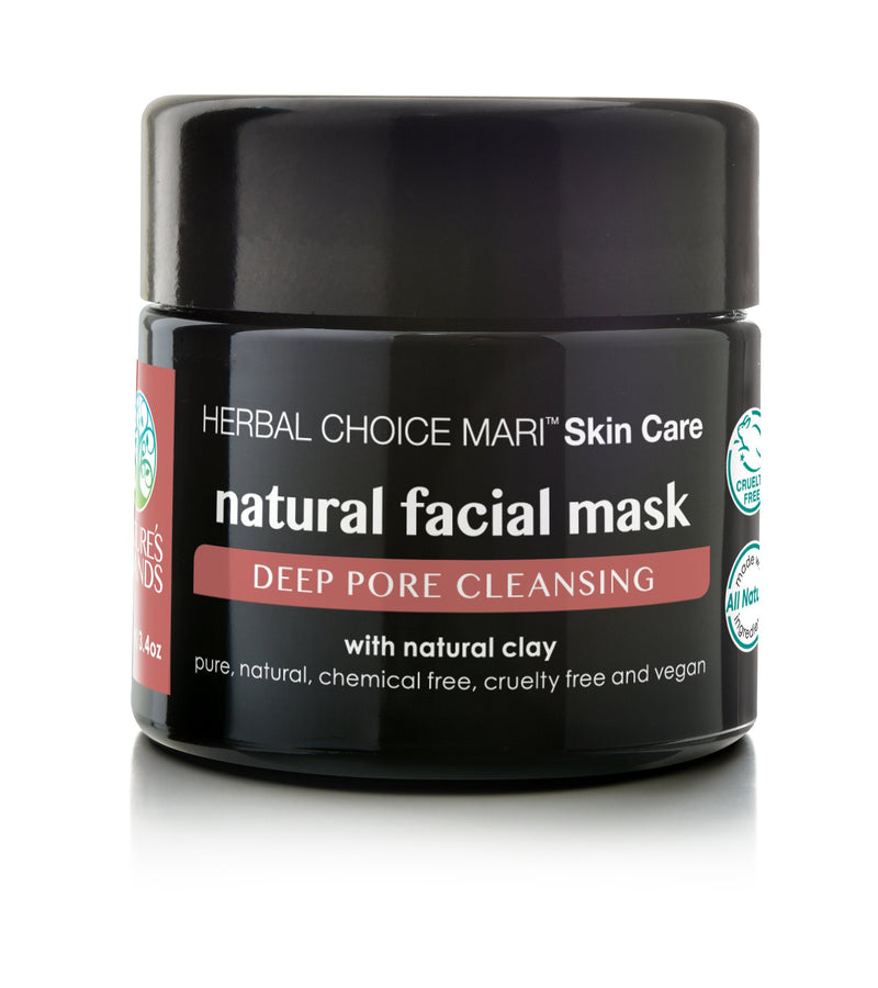 Herbal Choice Mari Natural Facial Mask - Herbal Choice Mari Natural Facial Mask - 3.4floz