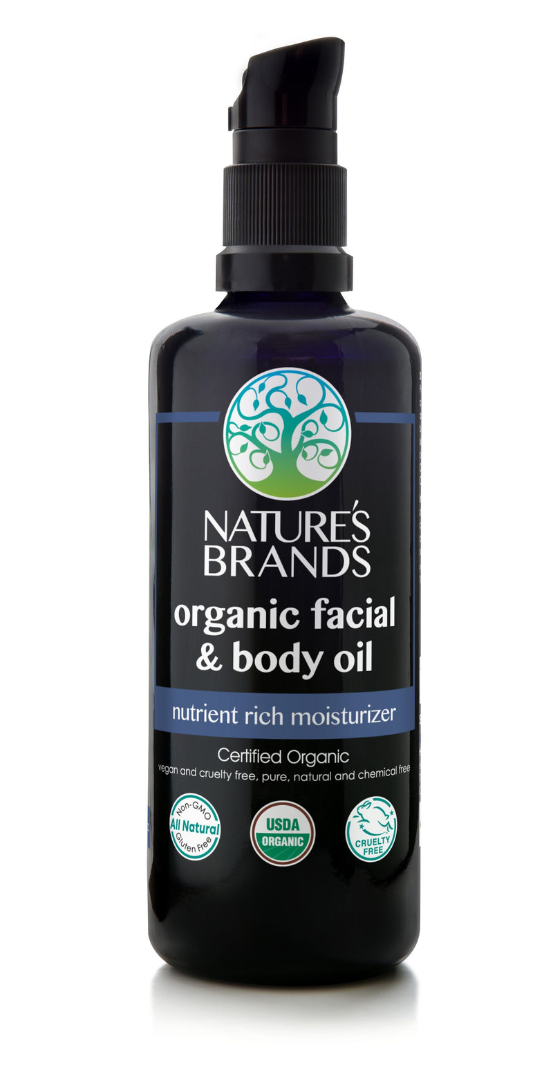 Herbal Choice Mari Organic Facial & Body Oil - Herbal Choice Mari Organic Facial & Body Oil - 3.4floz