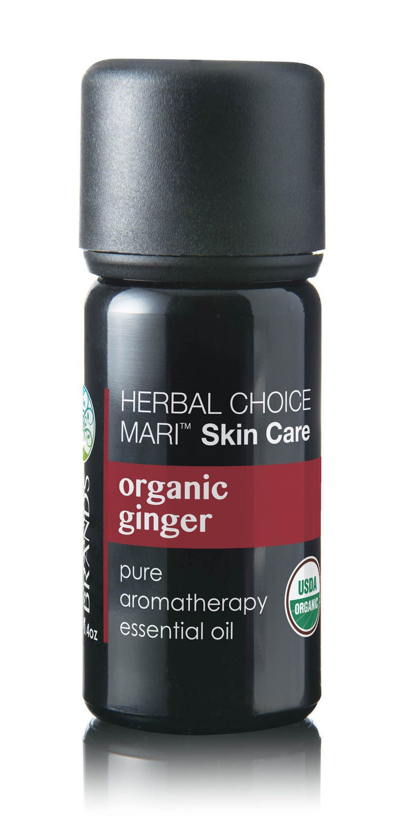 Herbal Choice Mari Organic Ginger Essential Oil; 0.3floz Glass - Herbal Choice Mari Organic Ginger Essential Oil; 0.3floz Glass - Herbal Choice Mari Organic Ginger Essential Oil; 0.3floz Glass