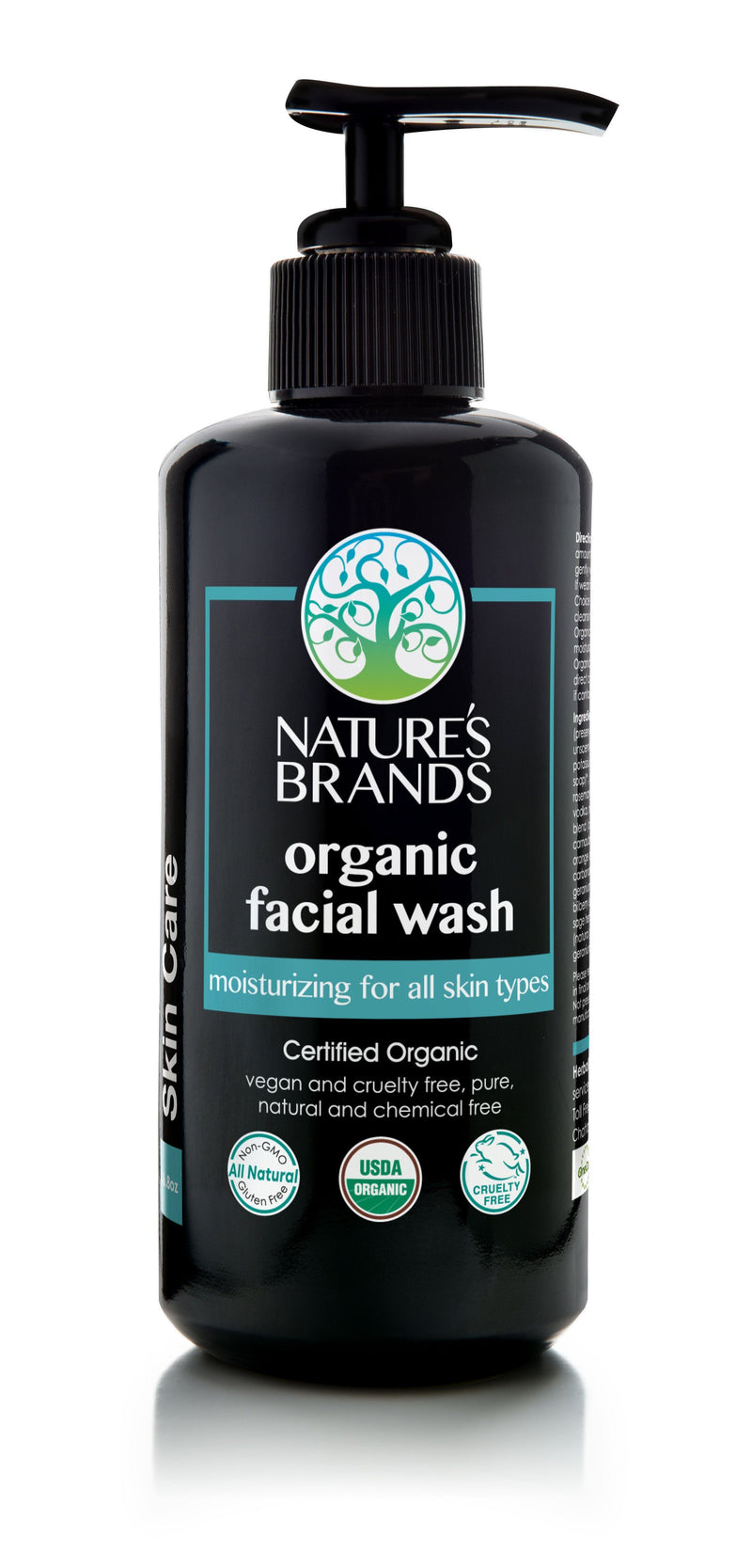 Herbal Choice Mari Organic Facial Wash, Moisturizing for All Skin Types - Herbal Choice Mari Organic Facial Wash, Moisturizing for All Skin Types - 6.8floz