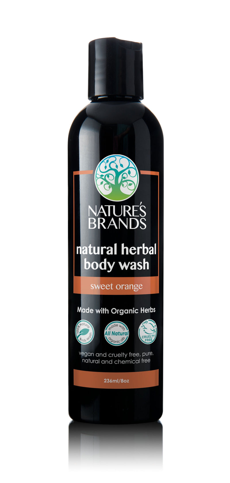 Herbal Choice Mari Organic Herbal Body Wash, Sweet Orange - Herbal Choice Mari Organic Herbal Body Wash, Sweet Orange - Herbal Choice Mari Organic Herbal Body Wash, Sweet Orange