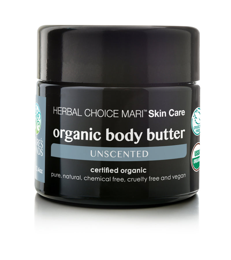 Herbal Choice Mari Organic Body Butter - Herbal Choice Mari Organic Body Butter - 3.4floz