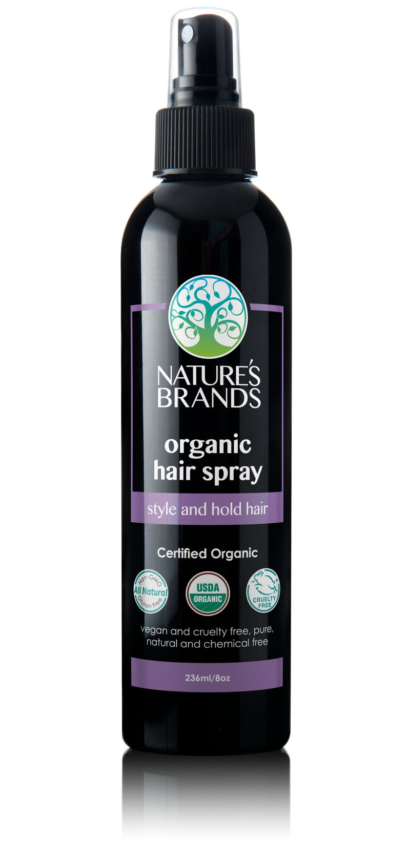 Herbal Choice Mari Organic Hair Spray - Herbal Choice Mari Organic Hair Spray - 8floz