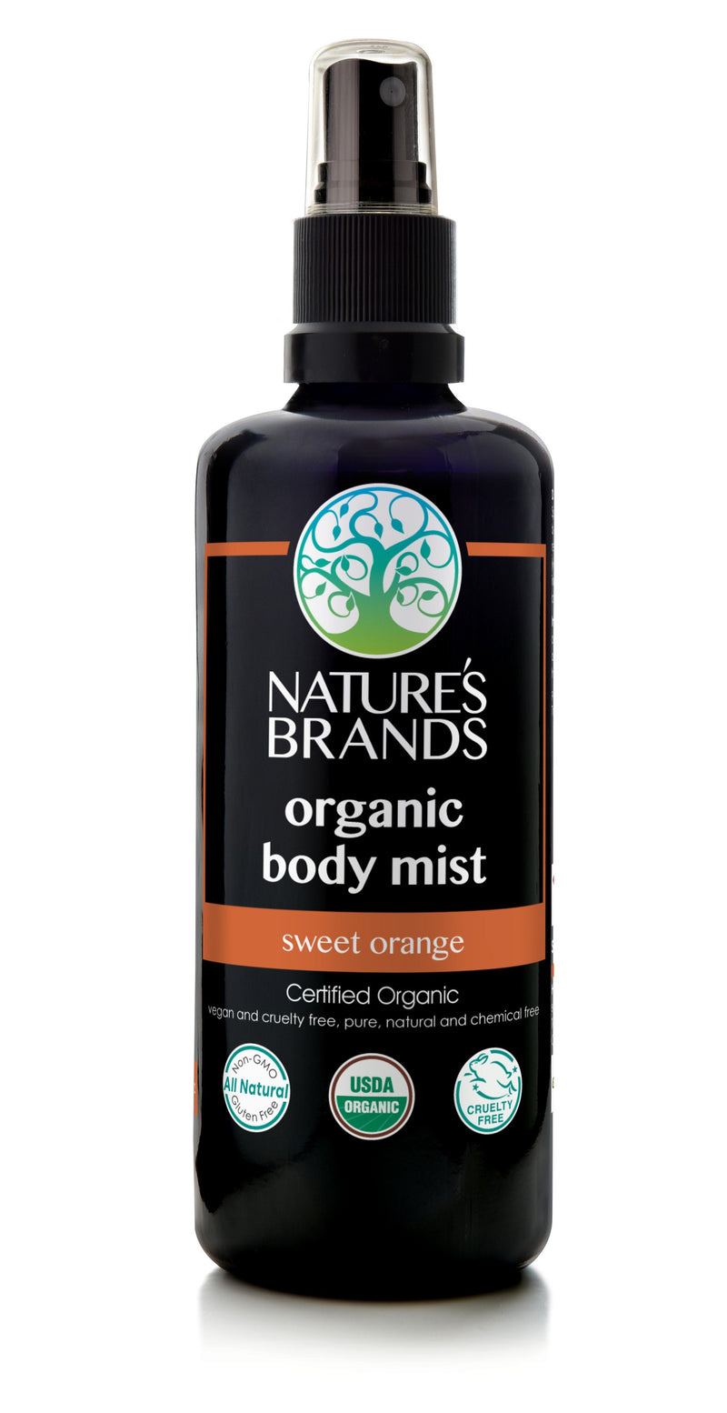 Herbal Choice Mari Organic Body Mist - Herbal Choice Mari Organic Body Mist - 3.4floz