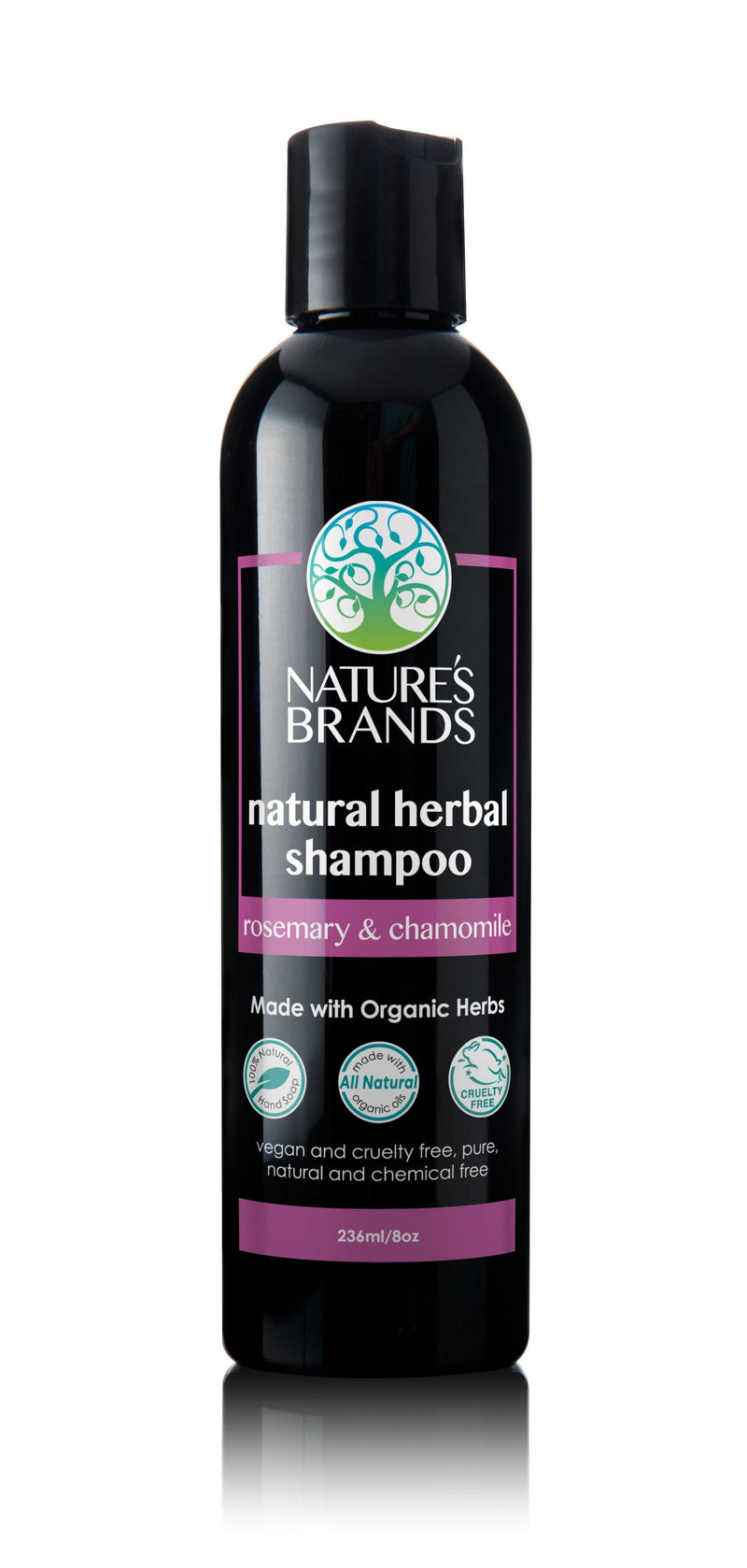 Herbal Choice Mari Natural Shampoo, Rosemary & Chamomile; Made with Organic - Herbal Choice Mari Natural Shampoo, Rosemary & Chamomile; Made with Organic - 8floz
