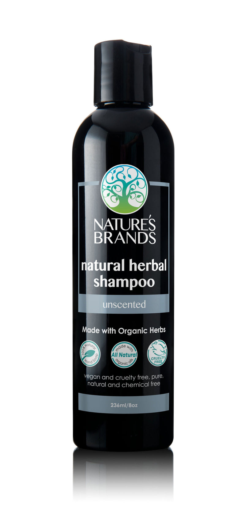 Herbal Choice Mari Natural Shampoo, Unscented; Made with Organic - Herbal Choice Mari Natural Shampoo, Unscented; Made with Organic - 8floz