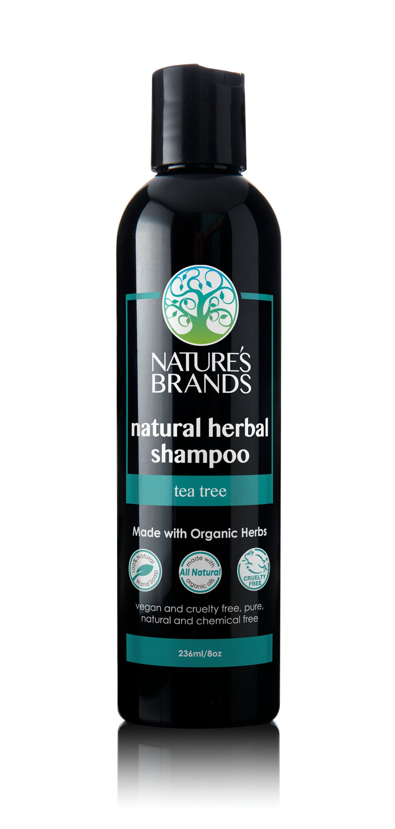 Herbal Choice Mari Natural Shampoo, Tea Tree; Made with Organic - Herbal Choice Mari Natural Shampoo, Tea Tree; Made with Organic - 8floz