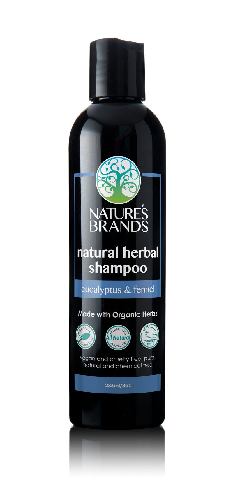 Herbal Choice Mari Natural Shampoo, Eucalyptus & Fennel; Made with Organic - Herbal Choice Mari Natural Shampoo, Eucalyptus & Fennel; Made with Organic - 8floz