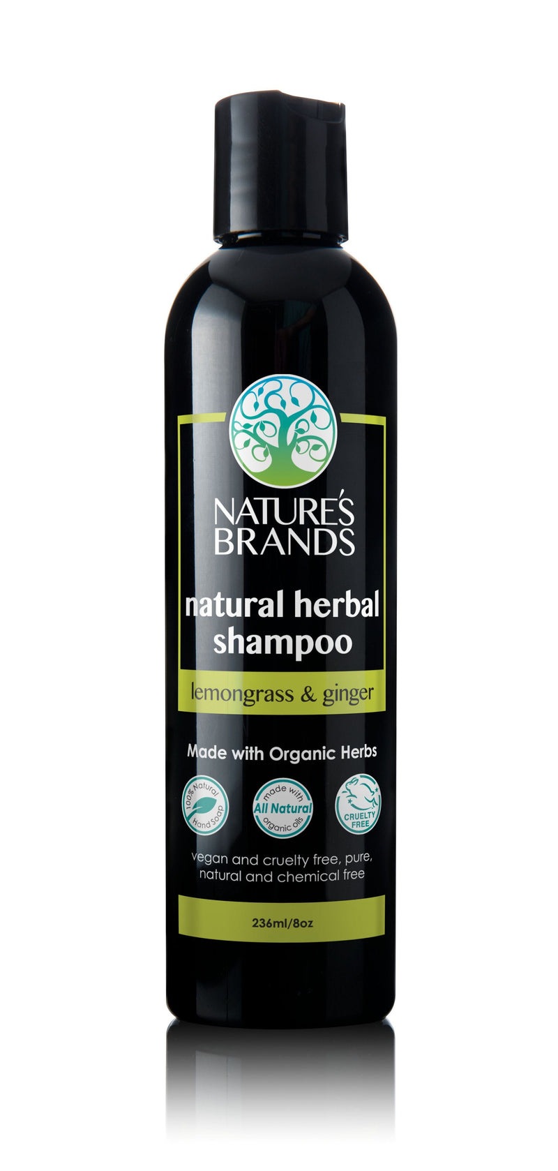 Herbal Choice Mari Natural Shampoo, Lemongrass & Ginger; Made with Organic - Herbal Choice Mari Natural Shampoo, Lemongrass & Ginger; Made with Organic - 8floz
