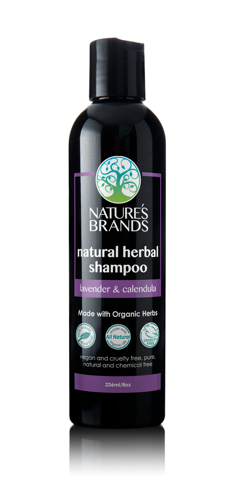 Herbal Choice Mari Natural Shampoo, Lavender And Calendula; Made with Organic - Herbal Choice Mari Natural Shampoo, Lavender And Calendula; Made with Organic - 8floz