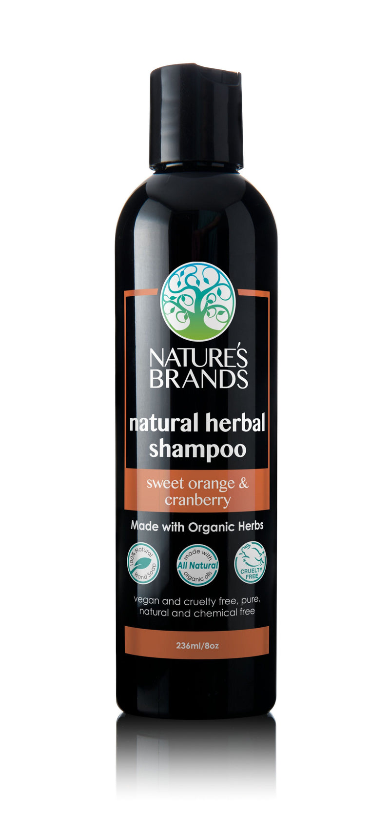 Herbal Choice Mari Natural Shampoo, Sweet Orange & Cranberry; Made with Organic - Herbal Choice Mari Natural Shampoo, Sweet Orange & Cranberry; Made with Organic - 8floz