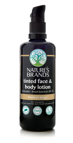 Herbal Choice Mari Natural SPF 30 Tinted Face & Body Lotion