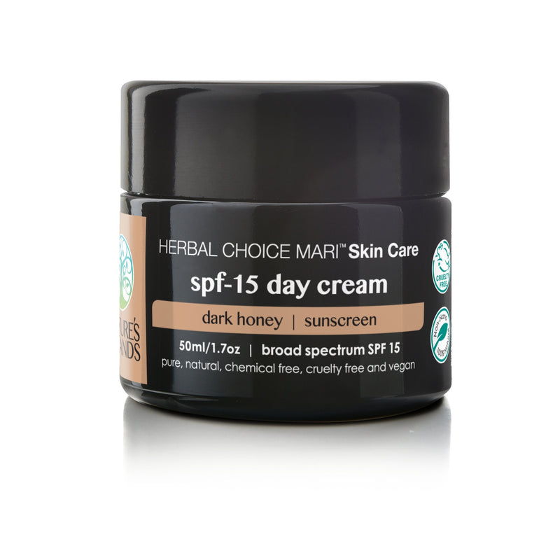 Herbal Choice Mari Natural SPF 15 Day Cream - Herbal Choice Mari Natural SPF 15 Day Cream - 1.7floz