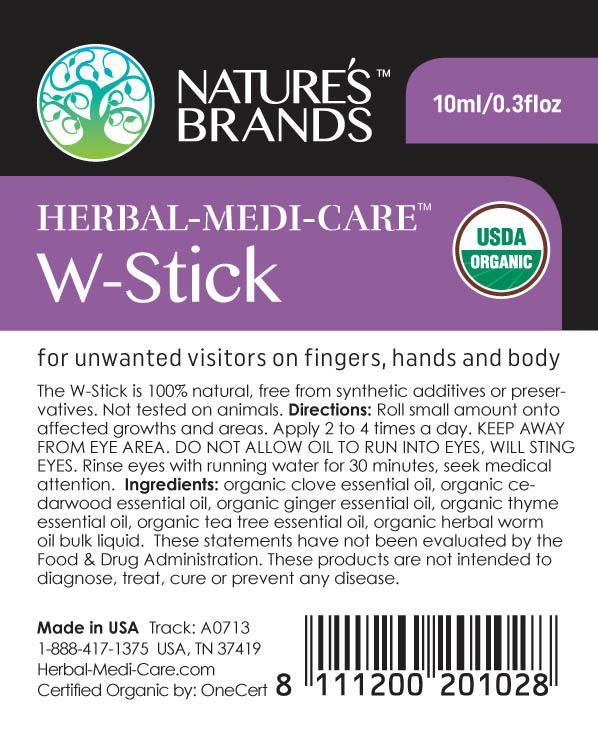 Herbal-Medi-Care Organic W-Stick (Warts); 0.3floz - Herbal-Medi-Care Organic W-Stick (Warts); 0.3floz - Herbal-Medi-Care Organic W-Stick (Warts); 0.3floz