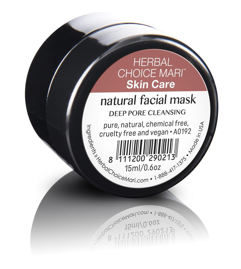Herbal Choice Mari Natural Facial Mask - Herbal Choice Mari Natural Facial Mask - 0.5floz