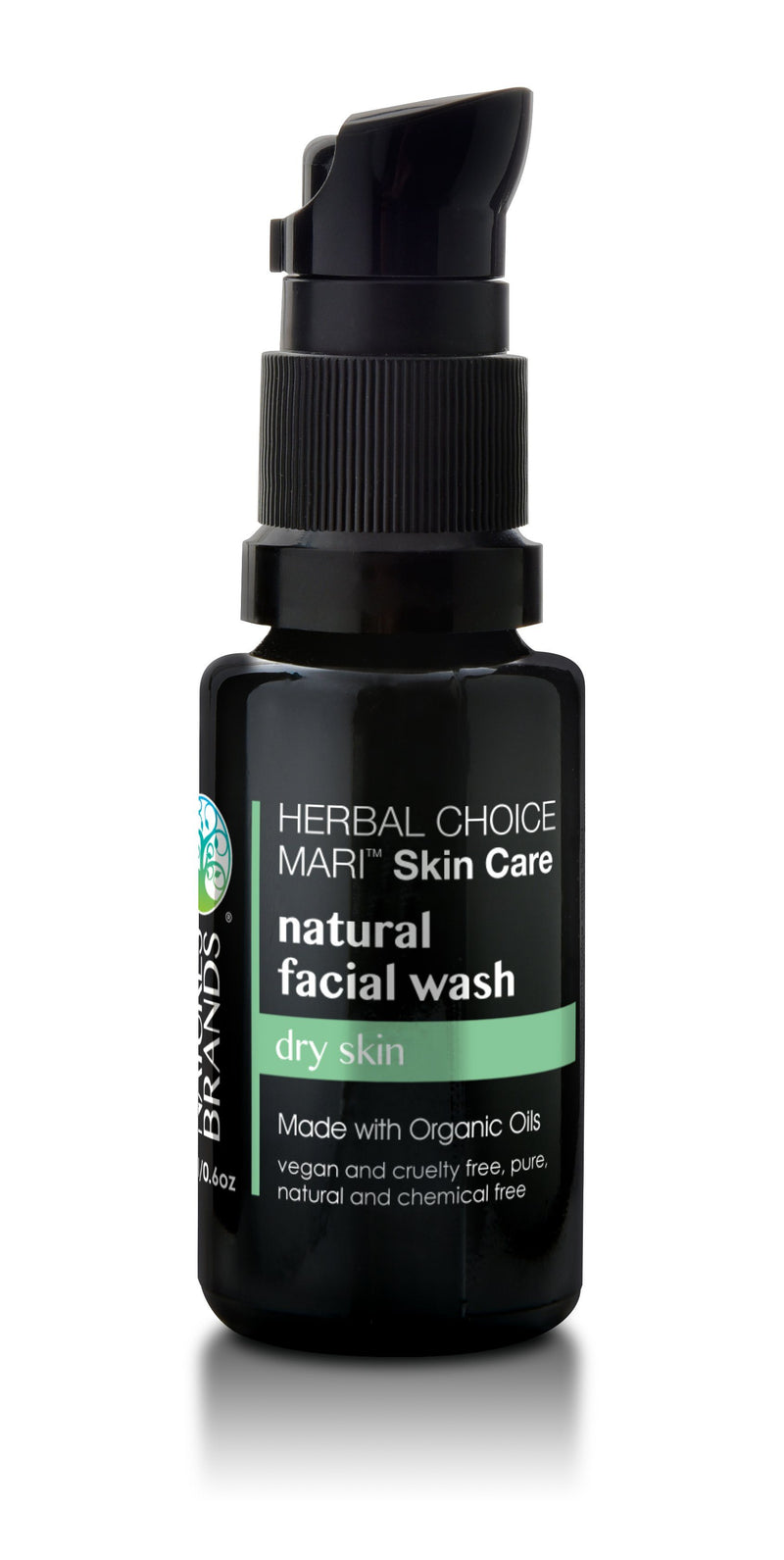 Herbal Choice Mari Natural Facial Wash; Made with Organic - Herbal Choice Mari Natural Facial Wash; Made with Organic - 0.5floz