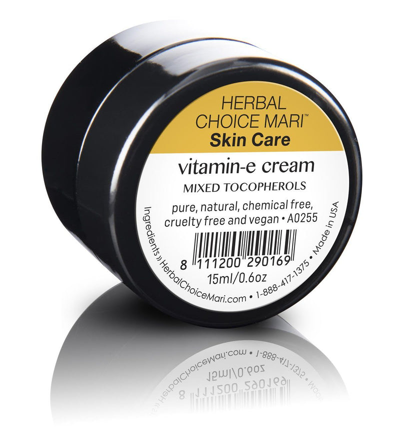 Herbal Choice Mari Natural Vitamin E Cream - Herbal Choice Mari Natural Vitamin E Cream - 0.5floz