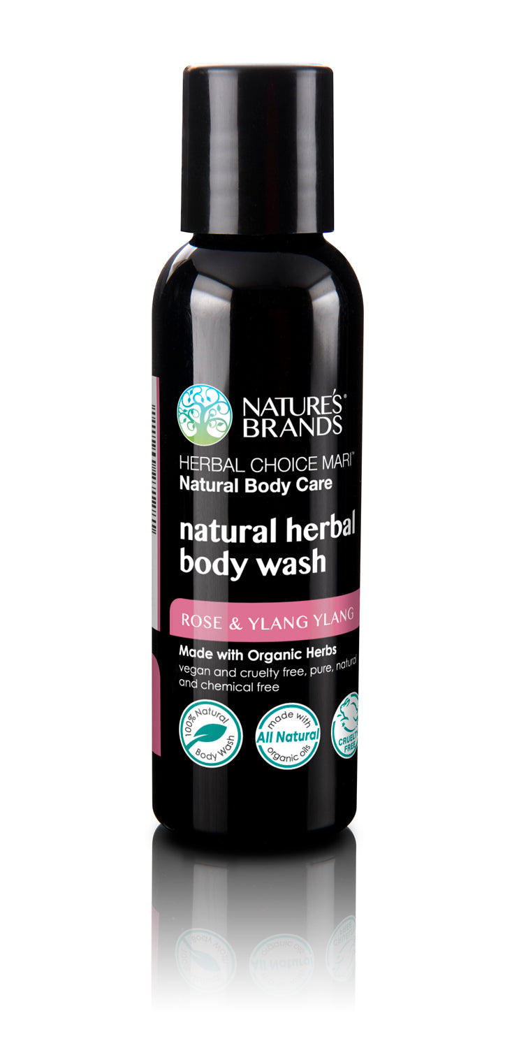 Herbal Choice Mari Organic Herbal Body Wash, Rose & Ylang Ylang - Herbal Choice Mari Organic Herbal Body Wash, Rose & Ylang Ylang - Herbal Choice Mari Organic Herbal Body Wash, Rose & Ylang Ylang