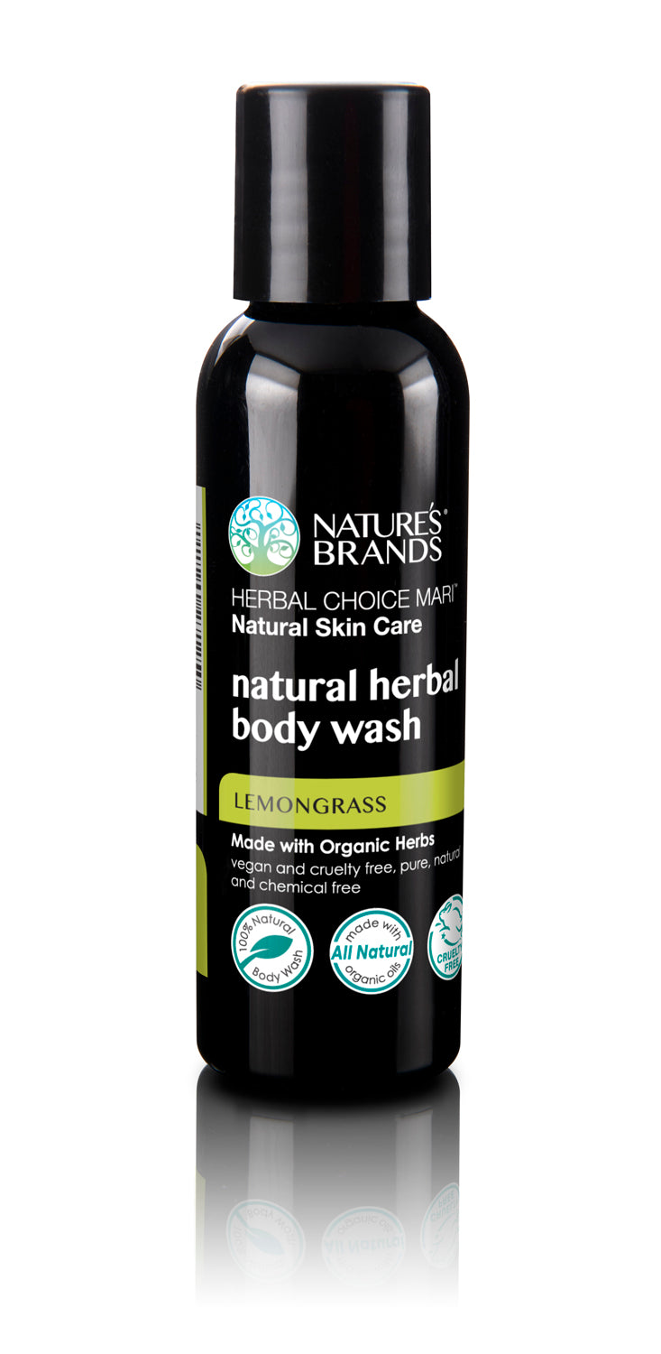 Herbal Choice Mari Organic Herbal Body Wash, Lemongrass - Herbal Choice Mari Organic Herbal Body Wash, Lemongrass - Herbal Choice Mari Organic Herbal Body Wash, Lemongrass