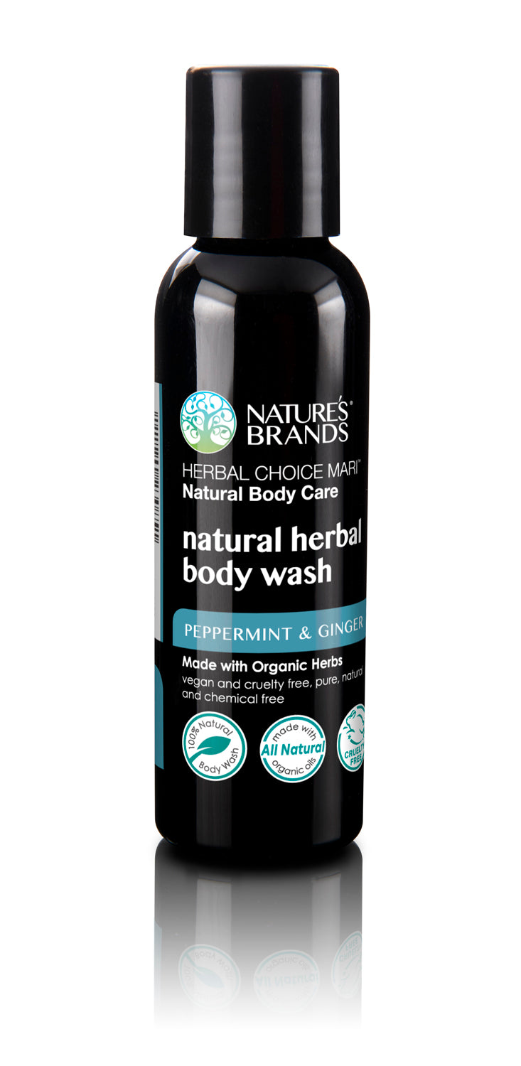 Herbal Choice Mari Organic Herbal Body Wash, Peppermint & Ginger - Herbal Choice Mari Organic Herbal Body Wash, Peppermint & Ginger - Herbal Choice Mari Organic Herbal Body Wash, Peppermint & Ginger