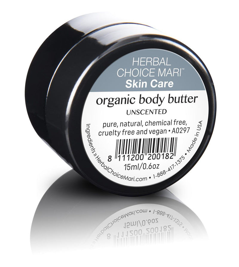 Herbal Choice Mari Organic Body Butter - Herbal Choice Mari Organic Body Butter - 0.5floz