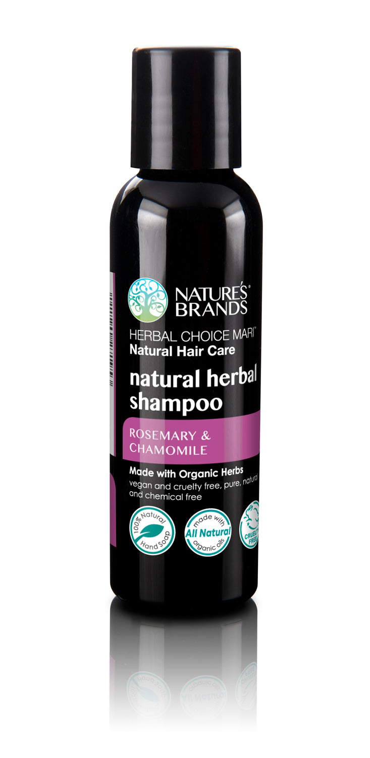 Herbal Choice Mari Natural Shampoo, Rosemary & Chamomile; Made with Organic - Herbal Choice Mari Natural Shampoo, Rosemary & Chamomile; Made with Organic - Herbal Choice Mari Natural Shampoo, Rosemary & Chamomile; Made with Organic