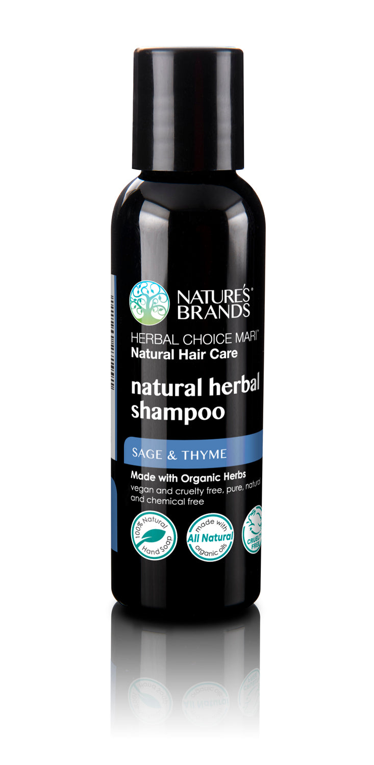 Herbal Choice Mari Natural Shampoo, Sage And Thyme; Made with Organic - Herbal Choice Mari Natural Shampoo, Sage And Thyme; Made with Organic - Herbal Choice Mari Natural Shampoo, Sage And Thyme; Made with Organic