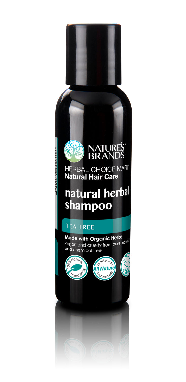 Herbal Choice Mari Natural Shampoo, Tea Tree; Made with Organic - Herbal Choice Mari Natural Shampoo, Tea Tree; Made with Organic - Herbal Choice Mari Natural Shampoo, Tea Tree; Made with Organic
