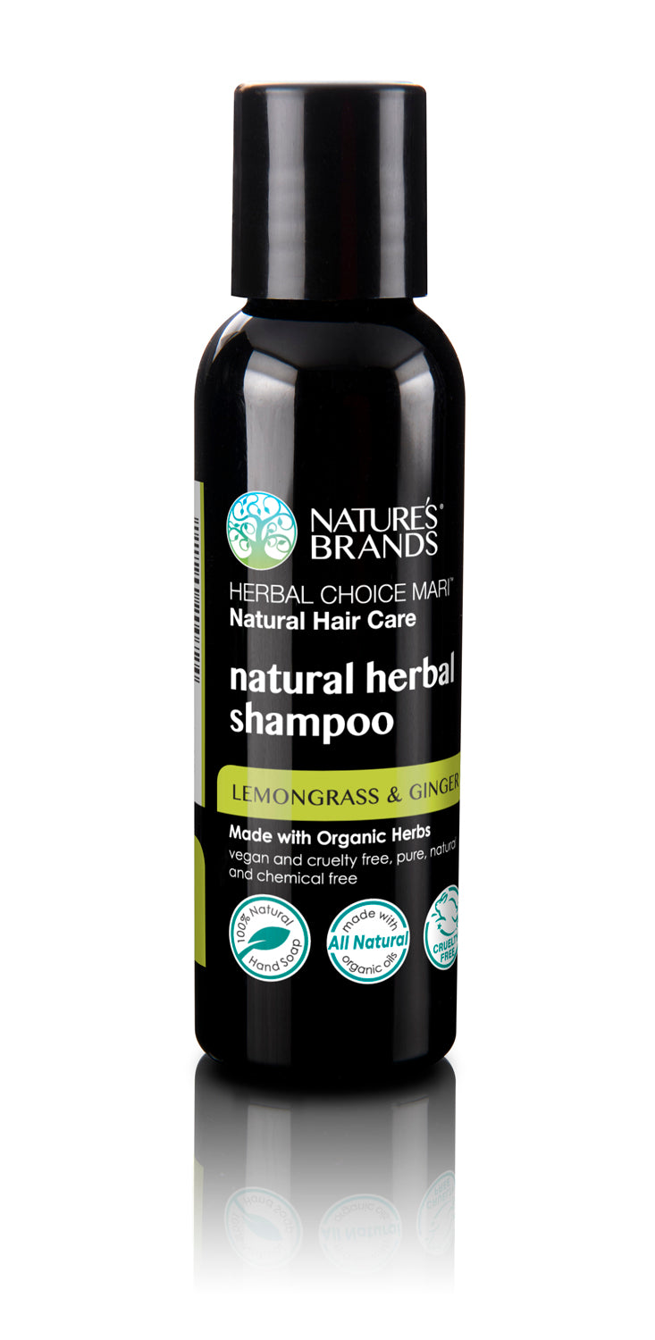 Herbal Choice Mari Natural Shampoo, Lemongrass And Ginger; Made with Organic - Herbal Choice Mari Natural Shampoo, Lemongrass And Ginger; Made with Organic - Herbal Choice Mari Natural Shampoo, Lemongrass And Ginger; Made with Organic