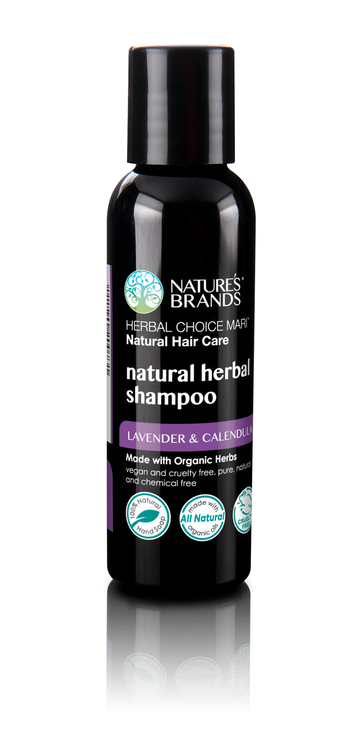 Herbal Choice Mari Natural Shampoo, Lavender & Calendula; Made with Organic - Herbal Choice Mari Natural Shampoo, Lavender & Calendula; Made with Organic - Herbal Choice Mari Natural Shampoo, Lavender & Calendula; Made with Organic