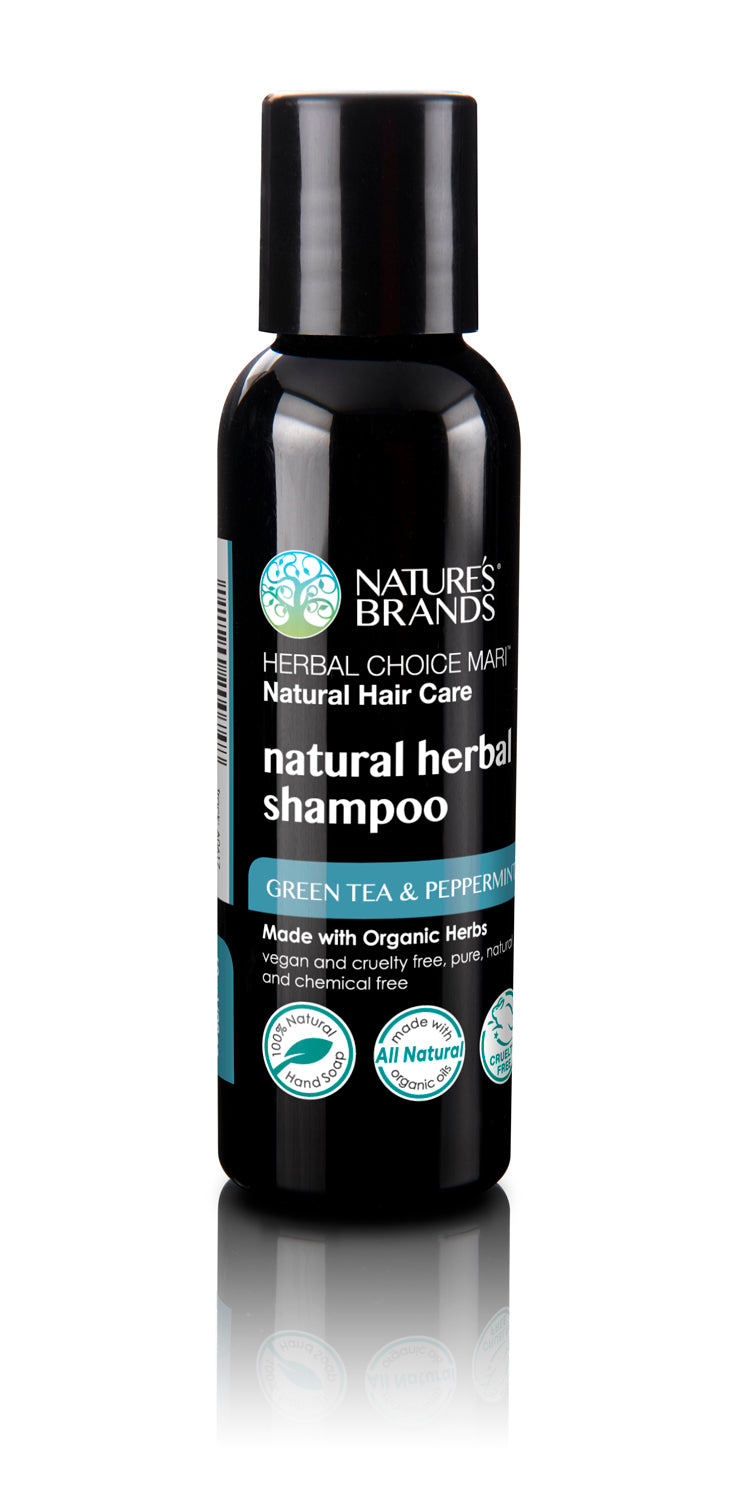 Herbal Choice Mari Natural Shampoo, Green Tea & Peppermint; Made with Organic - Herbal Choice Mari Natural Shampoo, Green Tea & Peppermint; Made with Organic - Herbal Choice Mari Natural Shampoo, Green Tea & Peppermint; Made with Organic