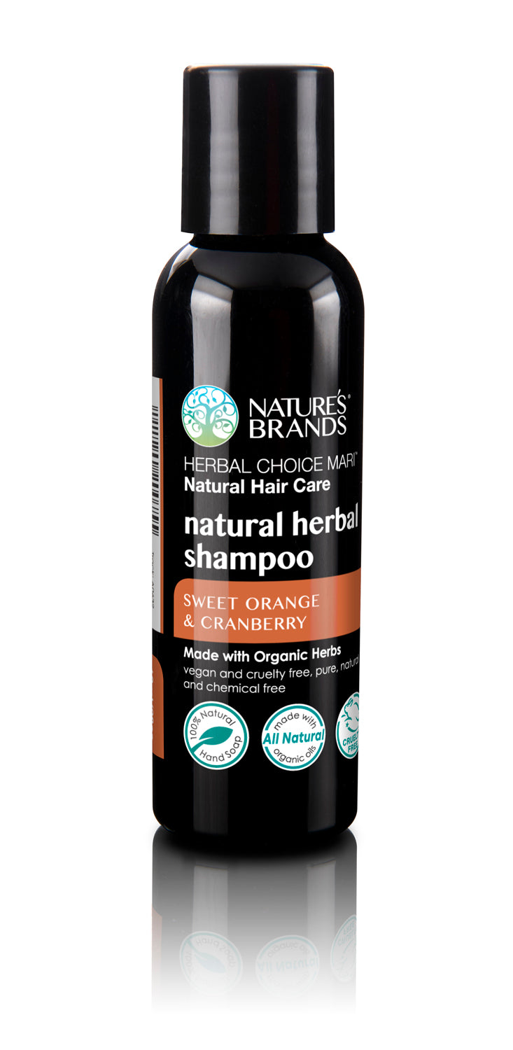 Herbal Choice Mari Natural Shampoo, Sweet Orange & Cranberry; Made with Organic - Herbal Choice Mari Natural Shampoo, Sweet Orange & Cranberry; Made with Organic - Herbal Choice Mari Natural Shampoo, Sweet Orange & Cranberry; Made with Organic