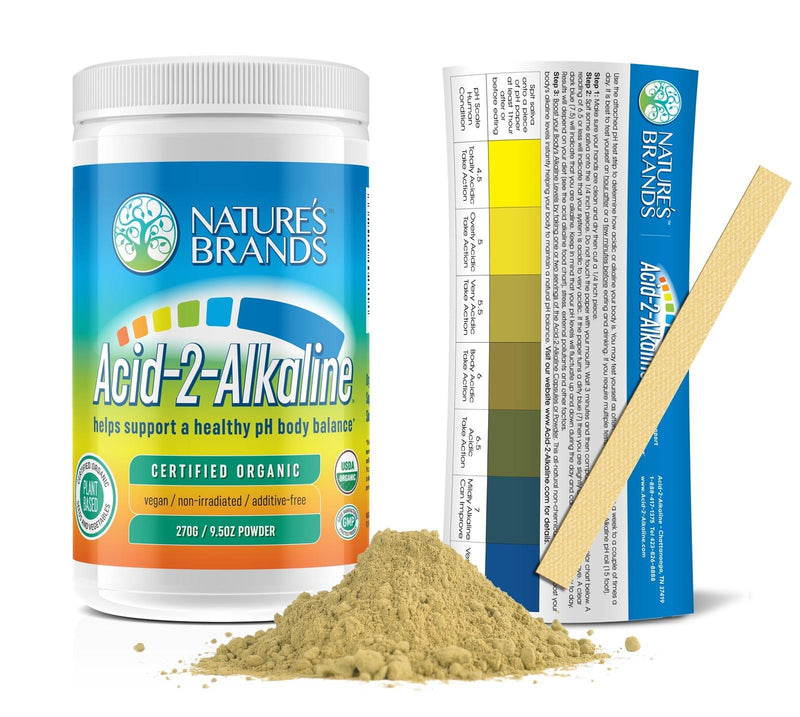 Acid-2-Alkaline Organic Whole Food Alkalizing Powder; 9.5oz - Acid-2-Alkaline Organic Whole Food Alkalizing Powder; 9.5oz - Acid-2-Alkaline Organic Whole Food Alkalizing Powder; 9.5oz