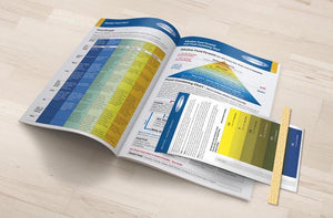 Alkaline Body Balance Informational Booklet with Food Chart and FREE pH Test Strip