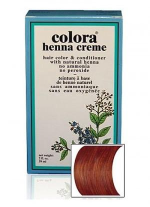 Natural Henna Hair Coloring Cream - Natural Henna Hair Coloring Cream - Chestnut Cream