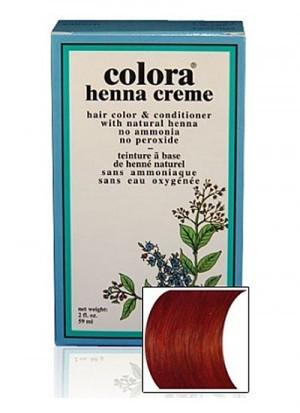 Natural Henna Hair Coloring Cream - Natural Henna Hair Coloring Cream - Mahogany Cream