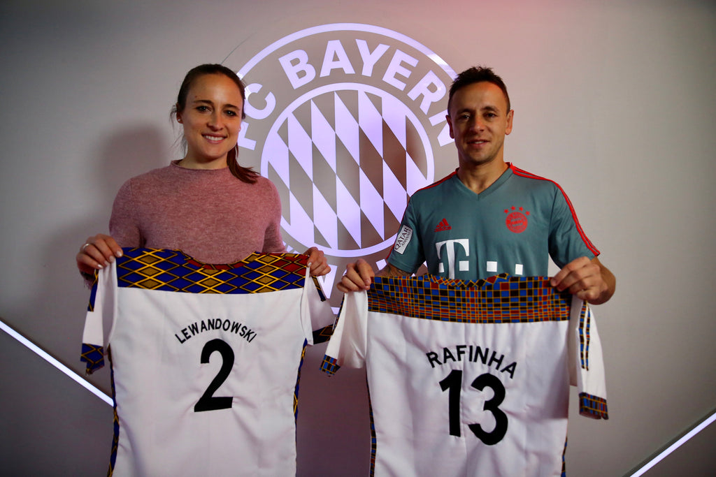 Gina Lewandowski and Rafinha