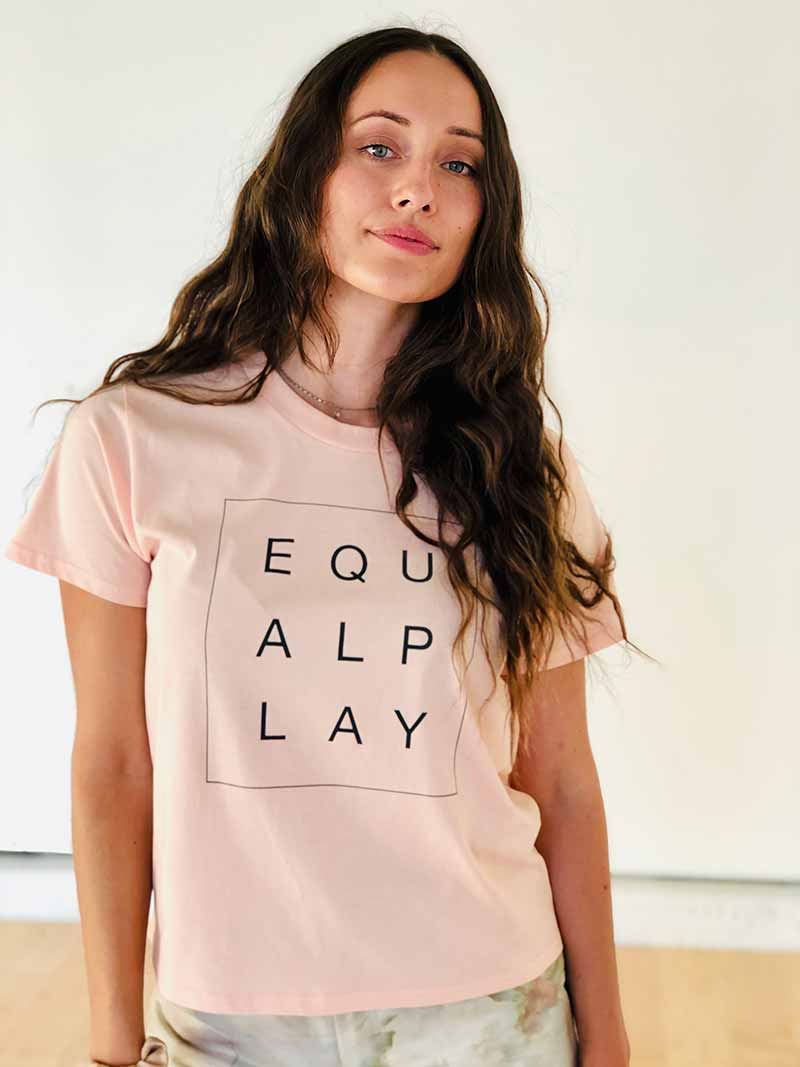Equal Play Box Tee Front