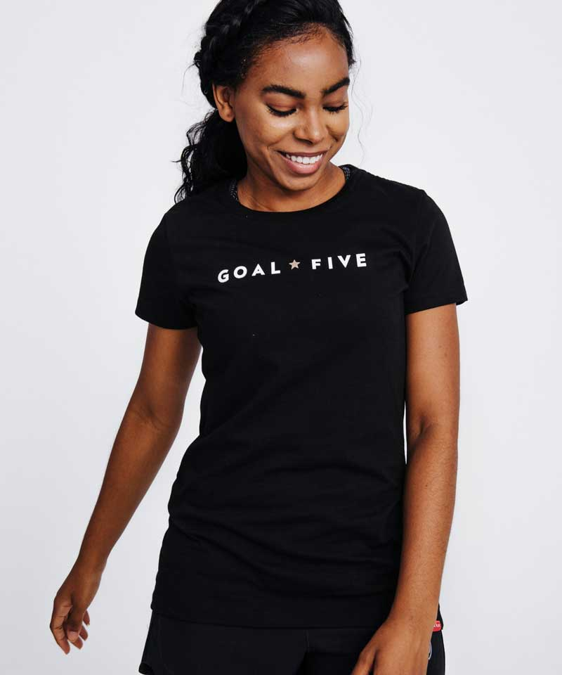 Goal Five T-Shirt Heather Grey