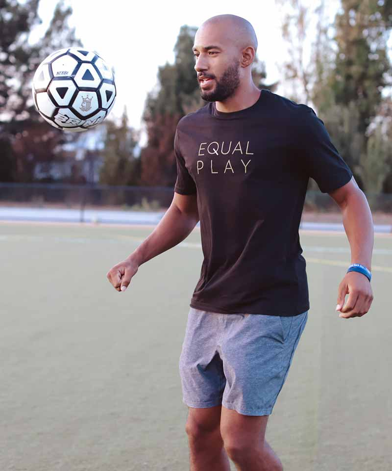 Men's Equal Play T-Shirt Front