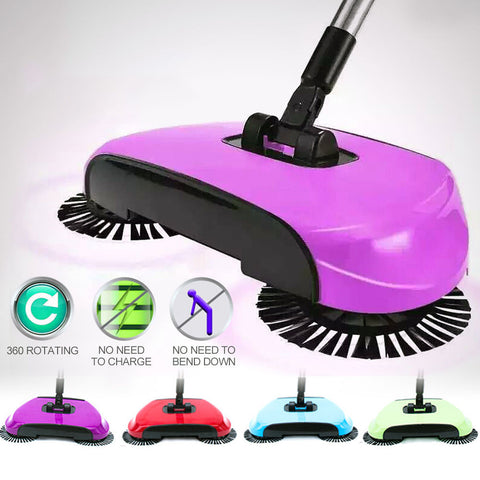 3-in-1 Spin Broom